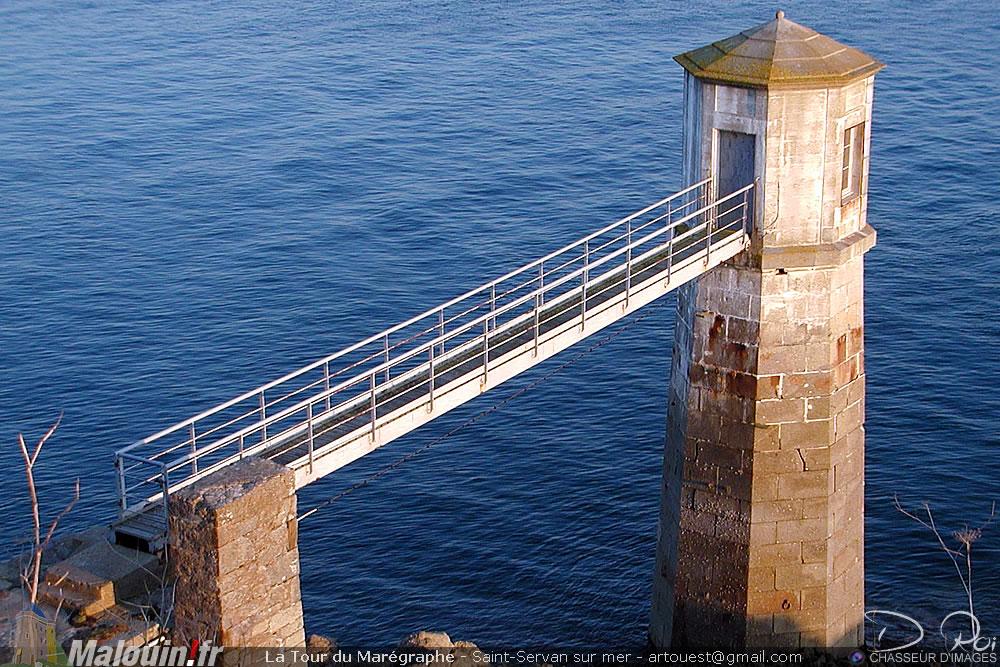 Tour du Marégraphe - Saint-servan sur mer