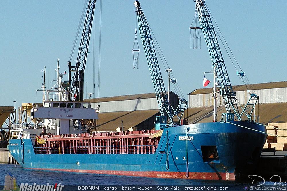 DORNUM -  IMO 9015462 - cargo - Saint-Malo