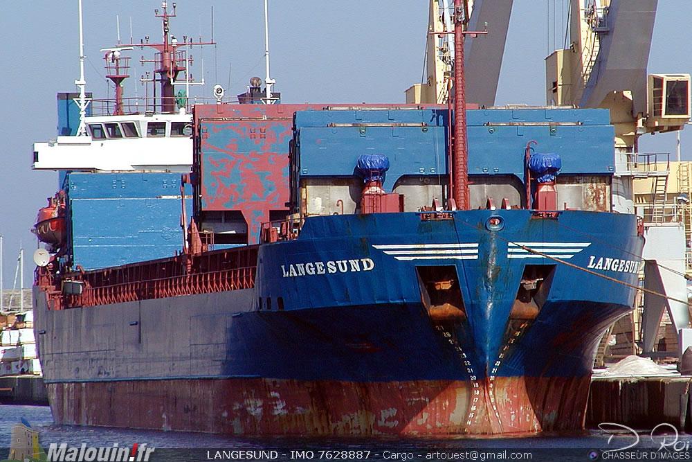 LANGESUND - IMO 7628887 - Cargo