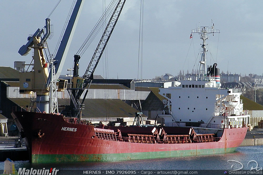 HERNES - IMO 7926095 - Cargo