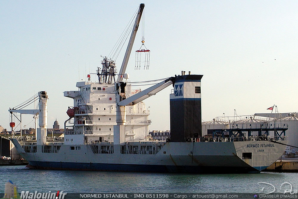 NORMED ISTANBUL - IMO 8511598 - Cargo
