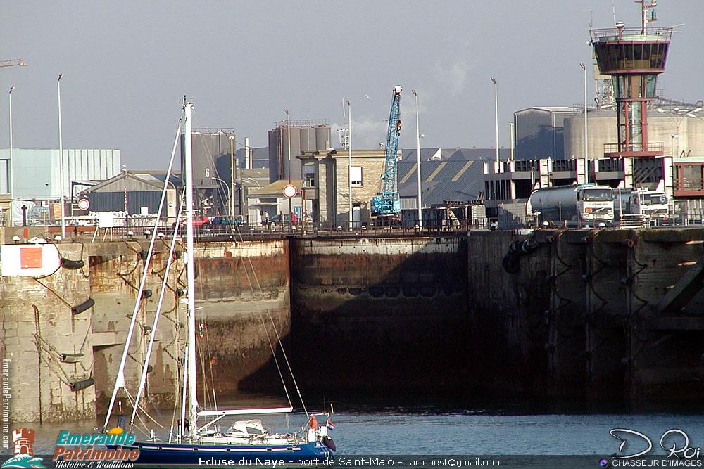 Ecluse du Naye - Port de Saint-Malo