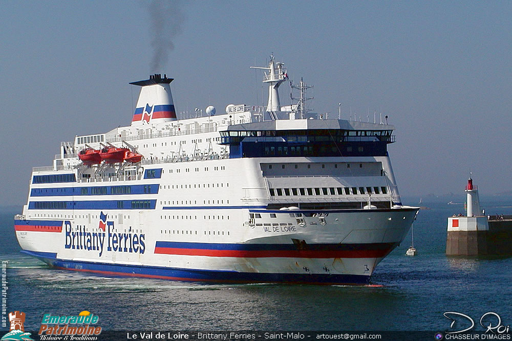 Val de Loire - IMO 8502406 - Brittany Ferries