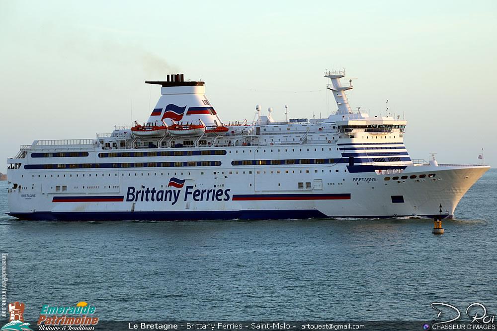Le Bretagne - IMO 8707329 - Brittany Ferries