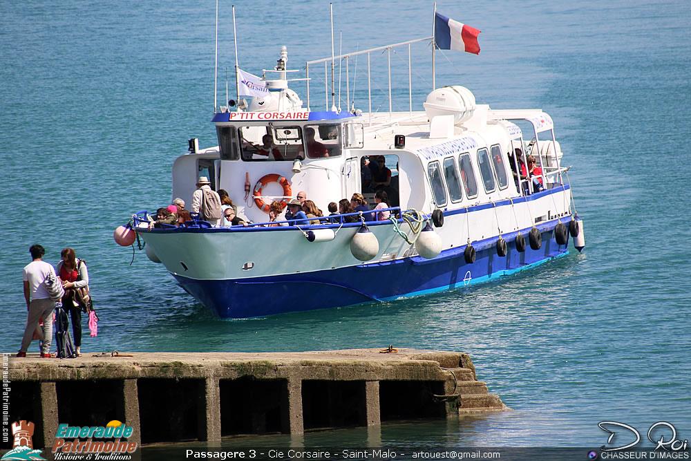 Passagere 3 - Cie Corsaire - Saint-Malo
