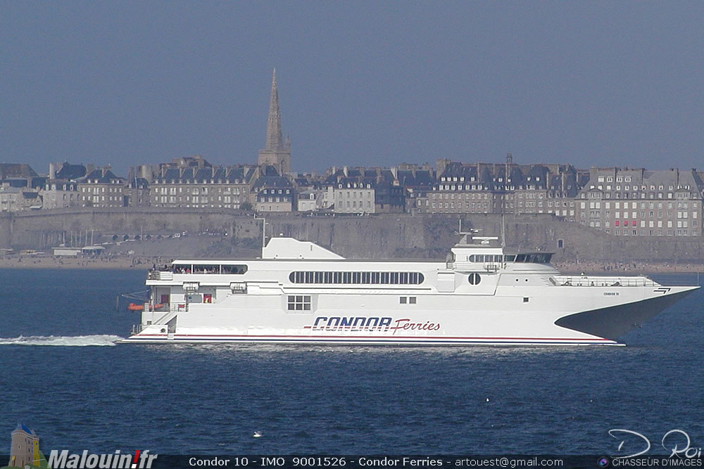 Condor 10 - IMO  9001526 - Condor Ferries