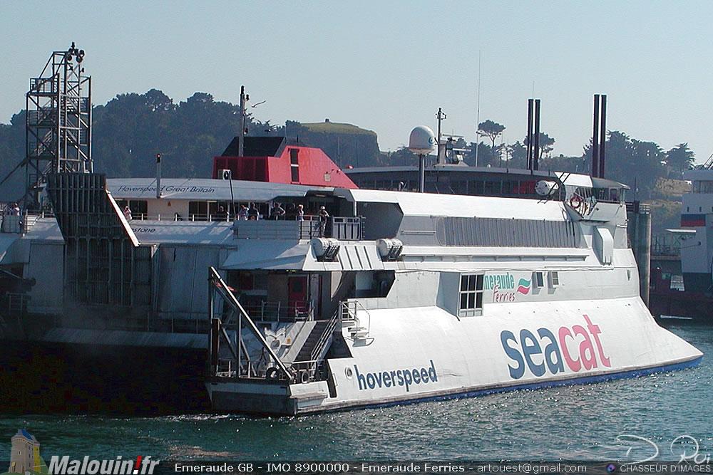 Emeraude GB - IMO 8900000 - Emeraude Ferries