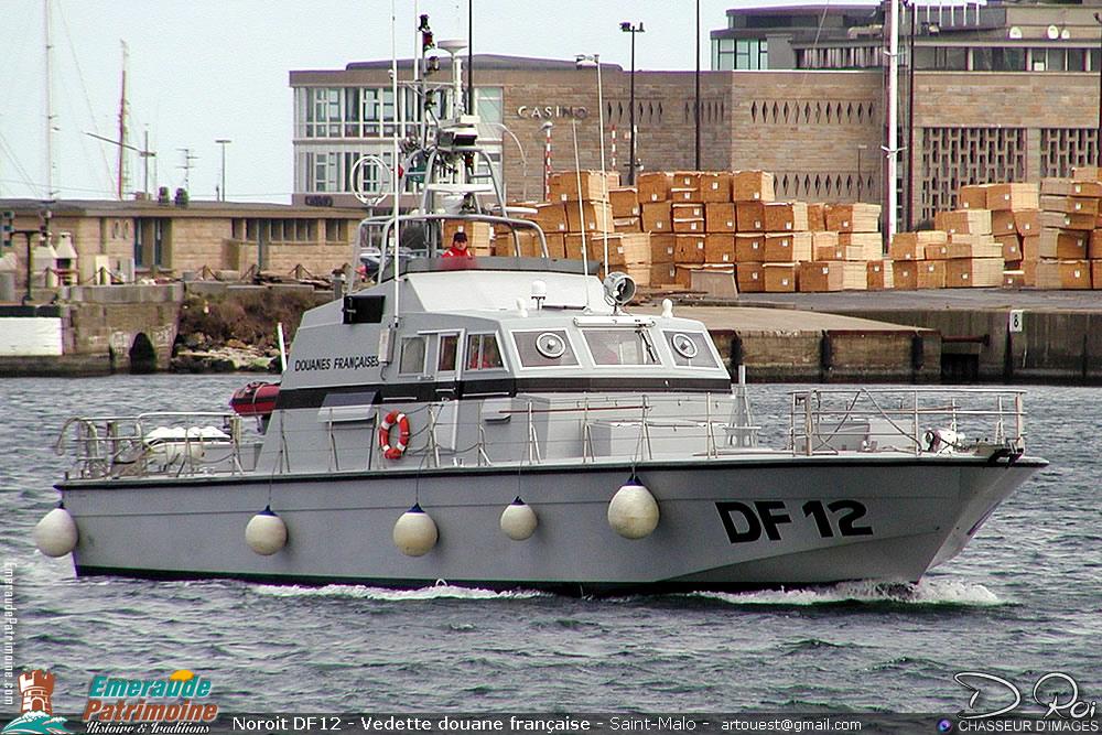 Noroit DF12 - Vedette douane française - Saint-Malo
