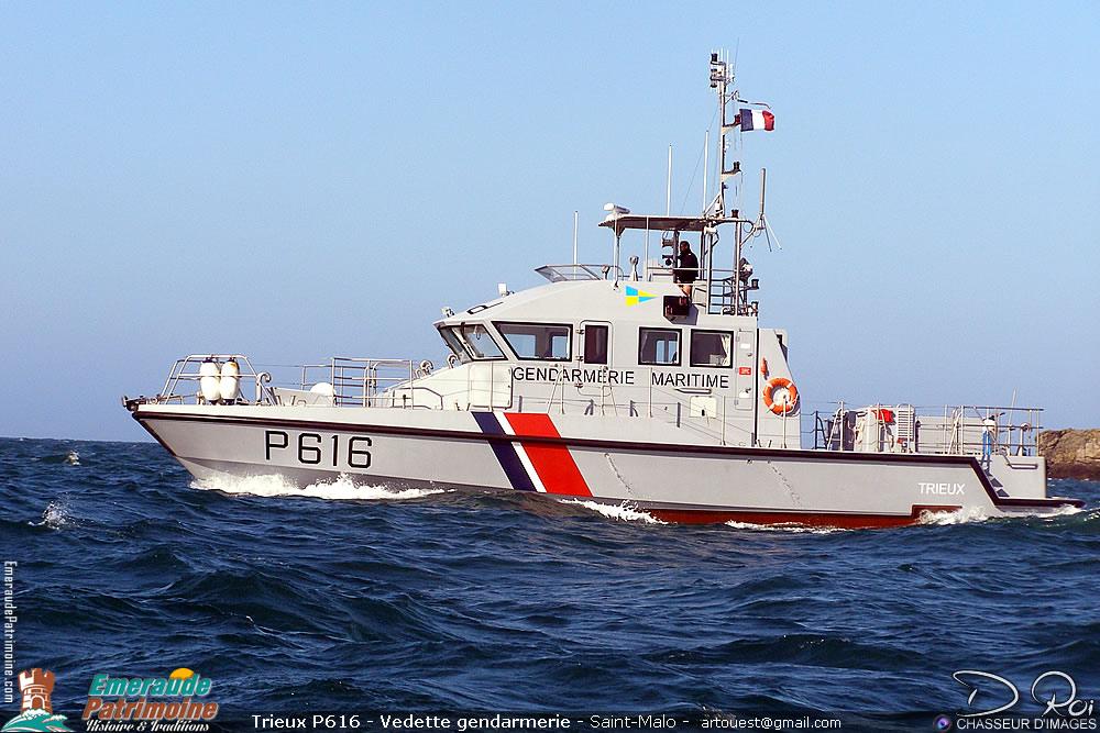 Trieux P616 - Gendarmerie Maritime - Saint-Malo