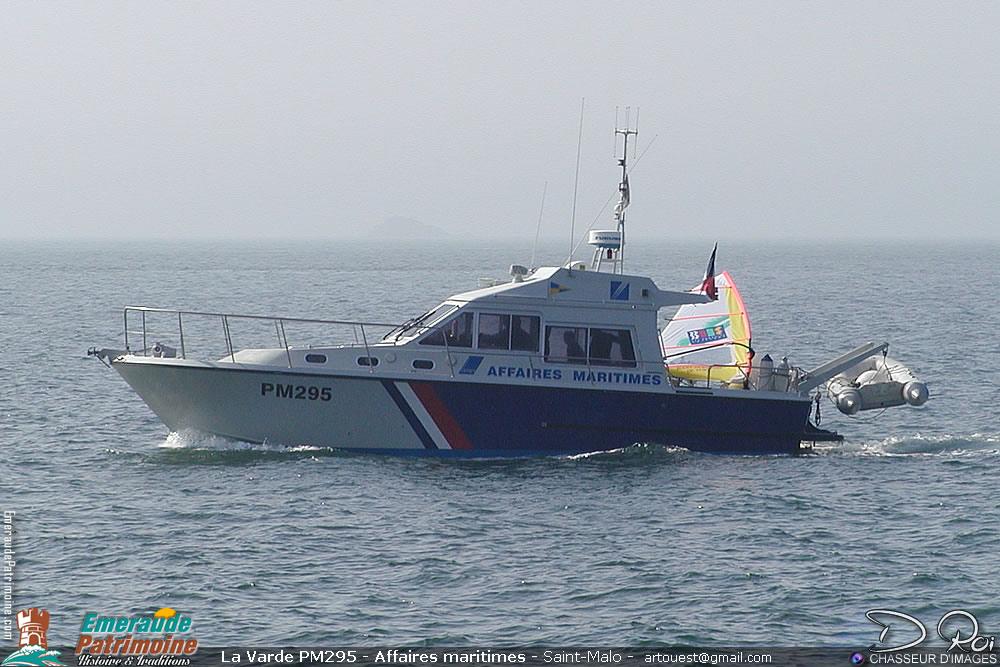 La Varde PM295 - Affaires maritimes - Saint-Malo