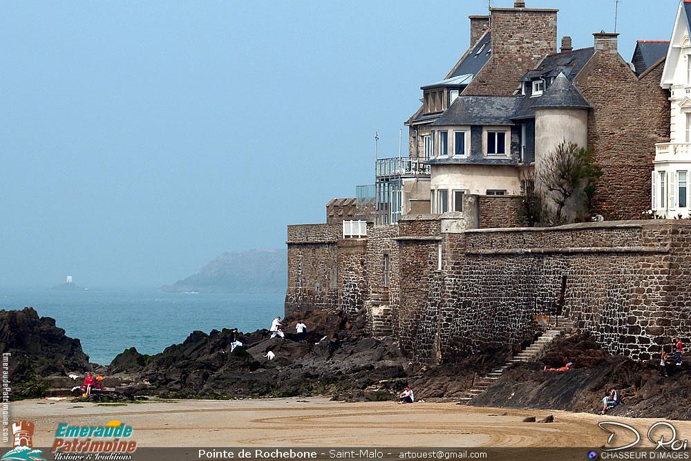 Pointe de Rochebonne - Paramé - Saint-Malo