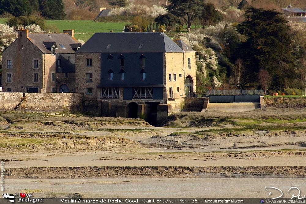 Moulin à marée de Rochegoude - Saint-Briac
