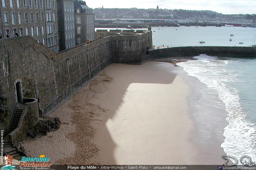 Plage du Môle - Saint-Malo intra-muros