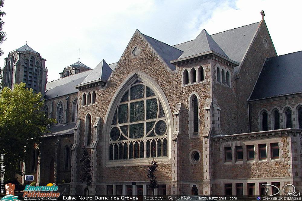Eglise Notre-Dame des Grèves - Rocabey