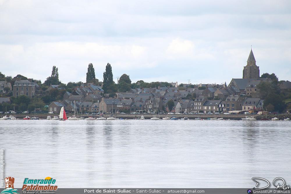 Port pêche et plaisance de Saint-Suliac