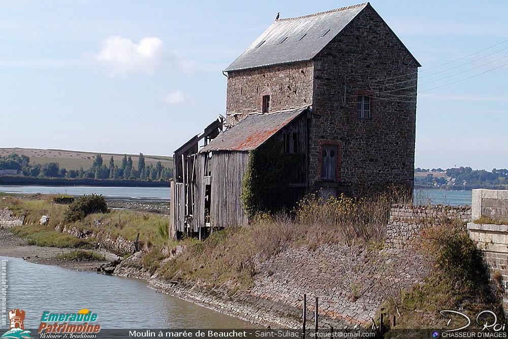 Moulin à marée de Beauchet - Saint-Suliac