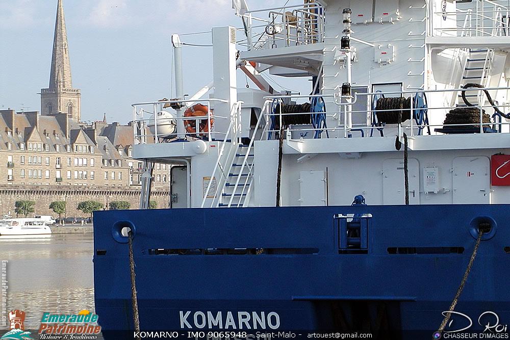 KOMARNO - IMO 9065948 - cargo Saint-Malo