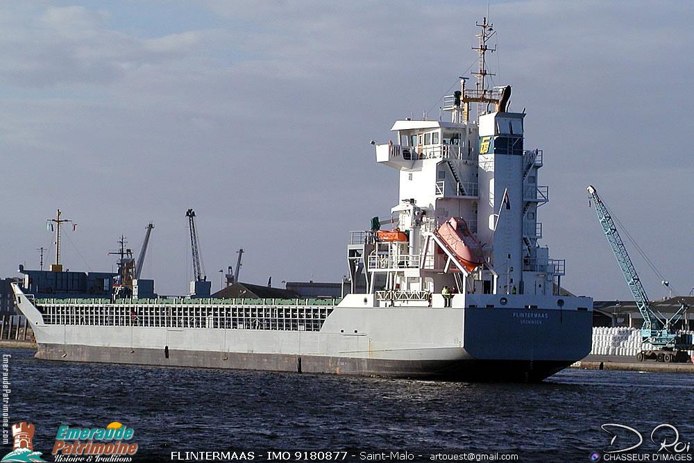FLINTERMAAS - IMO 9180877 - cargo Saint-Malo