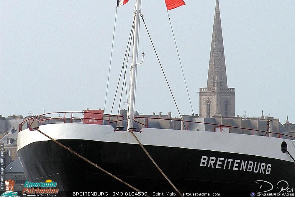 BREITENBURG - IMO 8104539 - cargo Saint-Malo