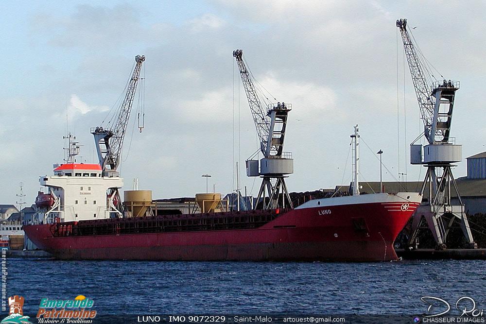 LUNO - IMO 9072329 - cargo Saint-Malo