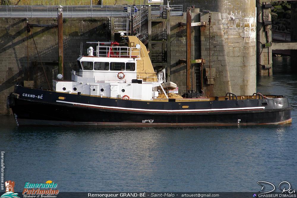 Remorqueur Grand bé - Saint-Malo