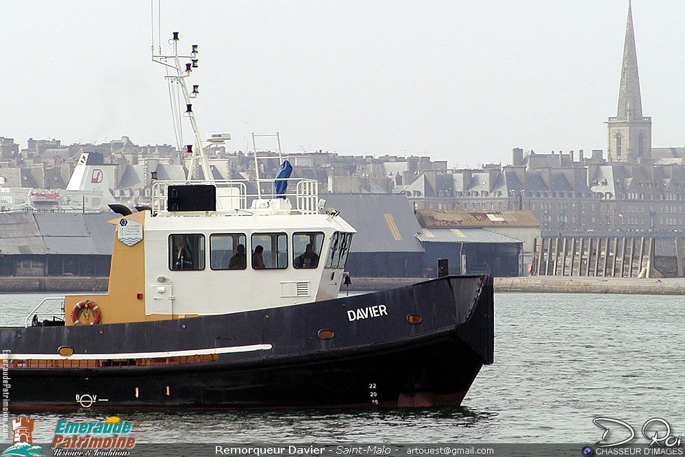 Remorqueur DAVIER - Saint-Malo
