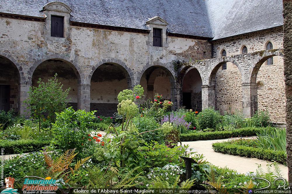Cloître de l'Abbaye Saint-Magloire de Léhon