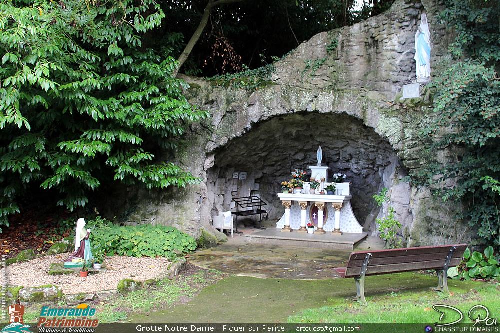 Grotte de La Souhaitier - Plouer sur Rance