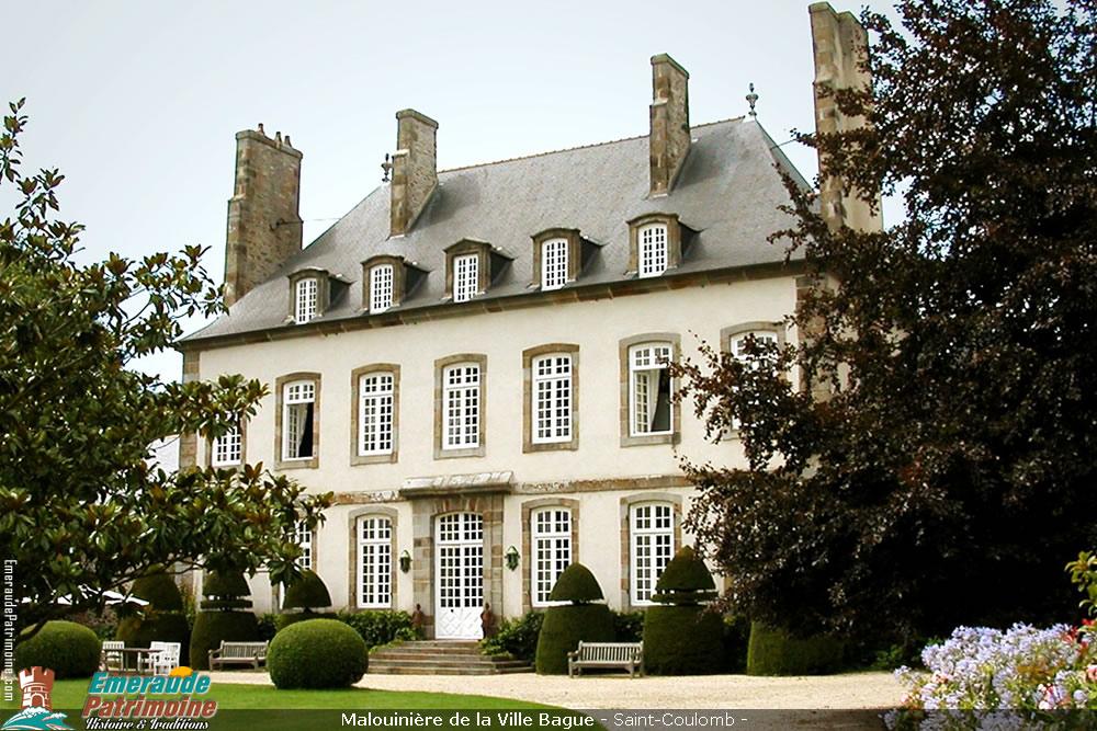 Malouinière de la Ville Bague - Saint-Coulomb