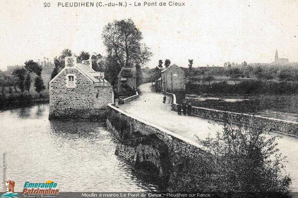 Moulin à marée Le Pont de Cieux - Pleudihen