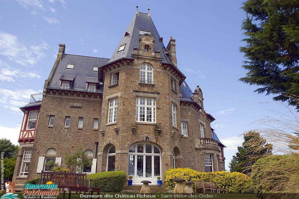 Demeure Château Richeux - Saint-Méloir-des-Ondes