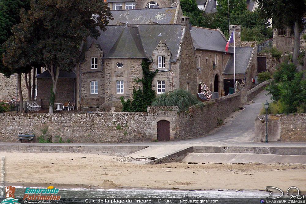 Cale de la plage du Prieuré - Dinard