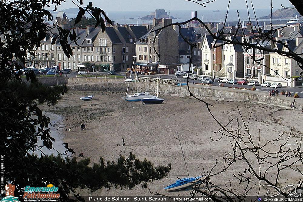 Plage de Solidor - Saint-Servan