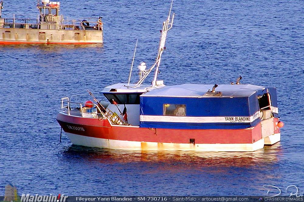Fileyeur Yann Blandine - SM-730716 -  Saint-Malo