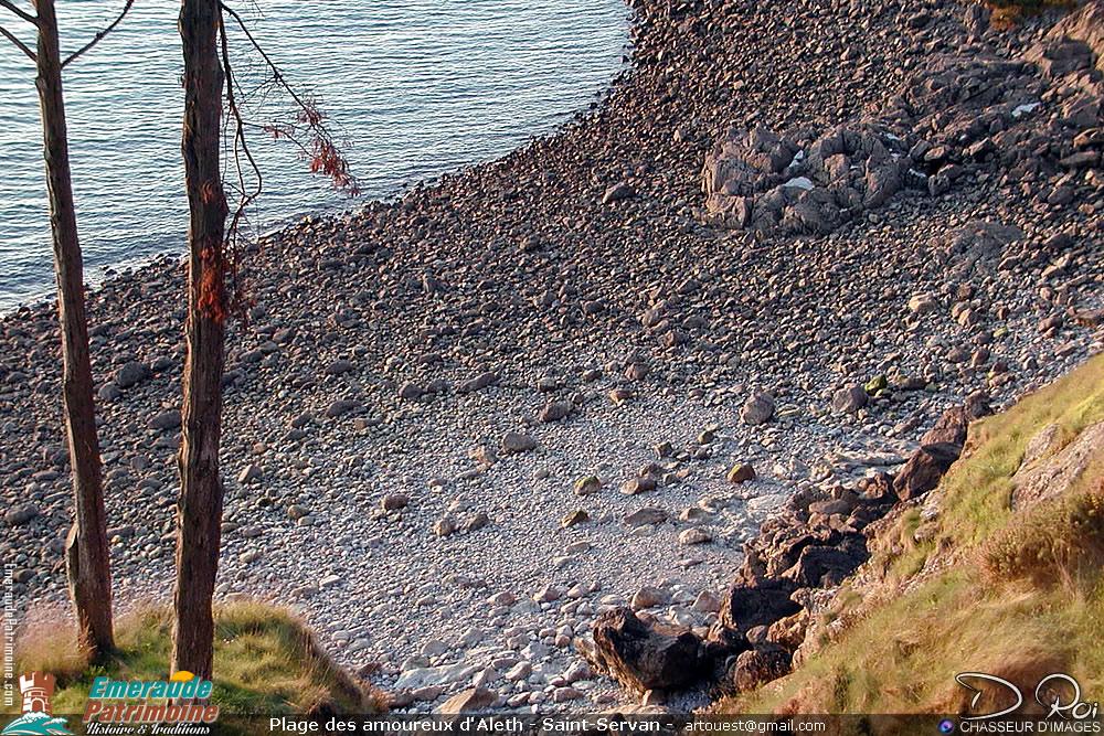 Plage des brigandins d'Aleth - Saint-Servan