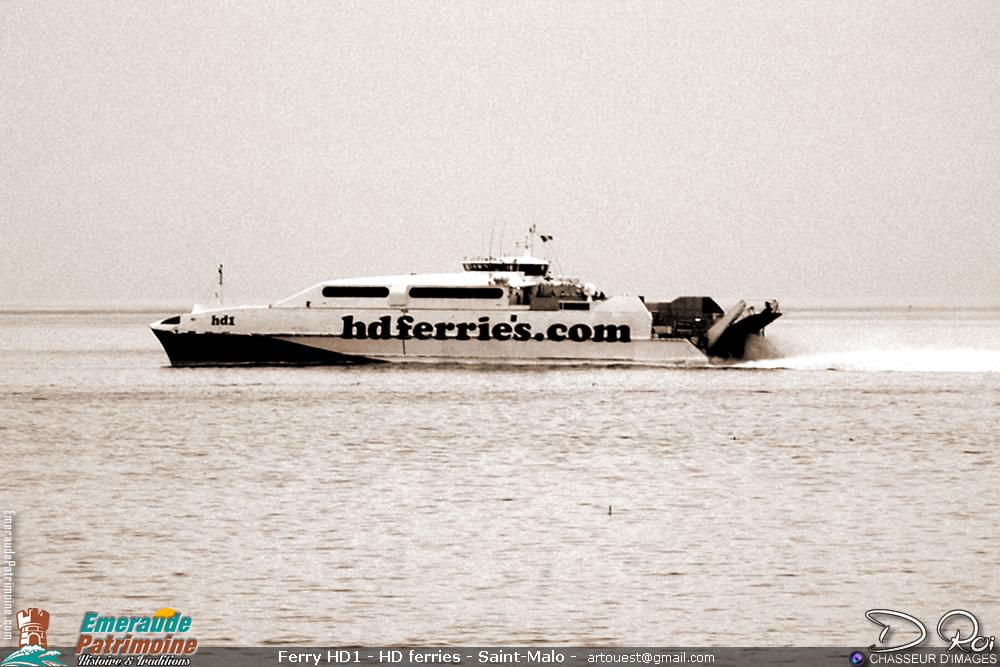 Ferry HD1 - HD ferries - Saint-Malo