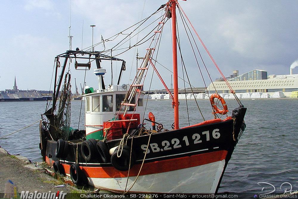 Chalutier Okeanos - SB-221276 - Saint-Brieuc