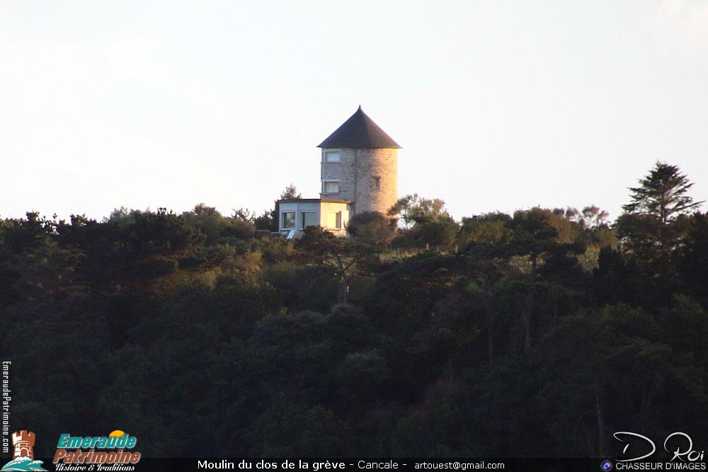 Moulin du clos de la grève - Cancale