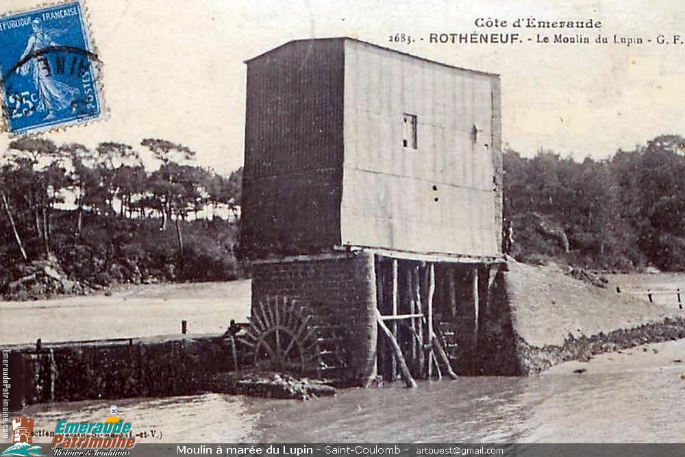 Moulin à Marée du Lupin - Saint-Coulomb