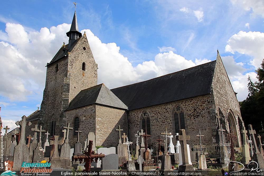 Eglise paroissiale Saint-Nicolas - Chateauneuf