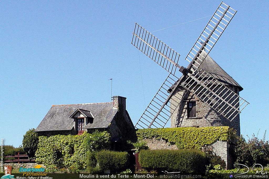 Moulin à vent du Tertre - Mont-Dol