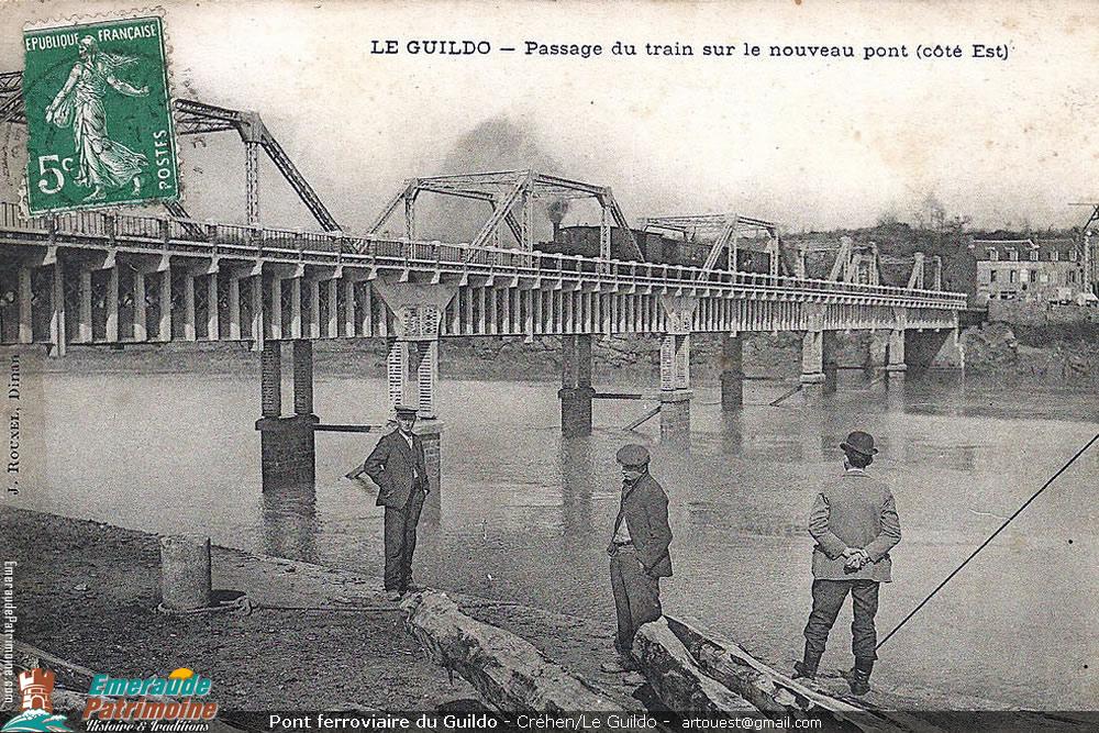 Pont de chemin de fer du Guildo