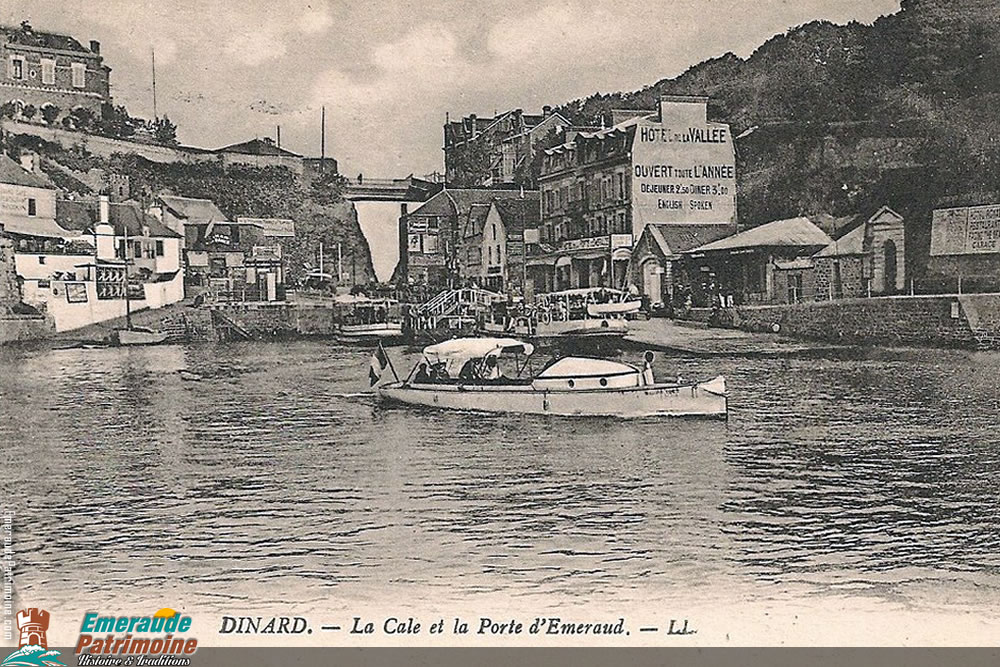 La Cale et la Porte d'Emeraud - Dinard