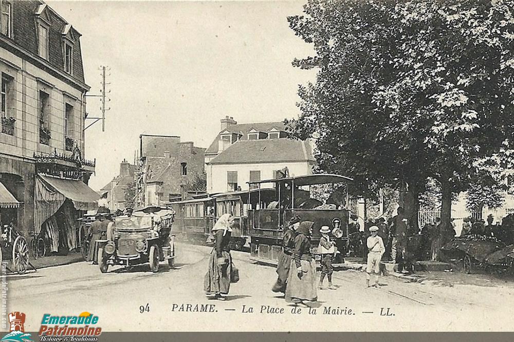 Place de la Mairie - Paramé