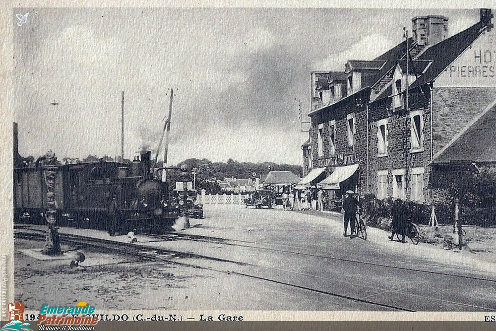 La Gare du Guildo - Carte postale ancienne