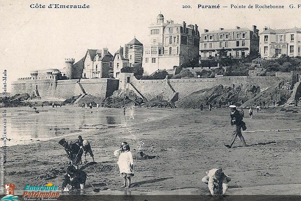Pointe de Rochebonne - paramé