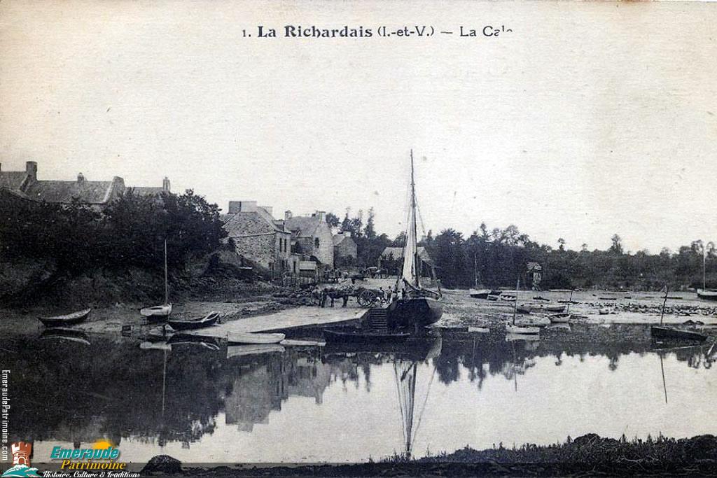 La Cale de La Richardais
