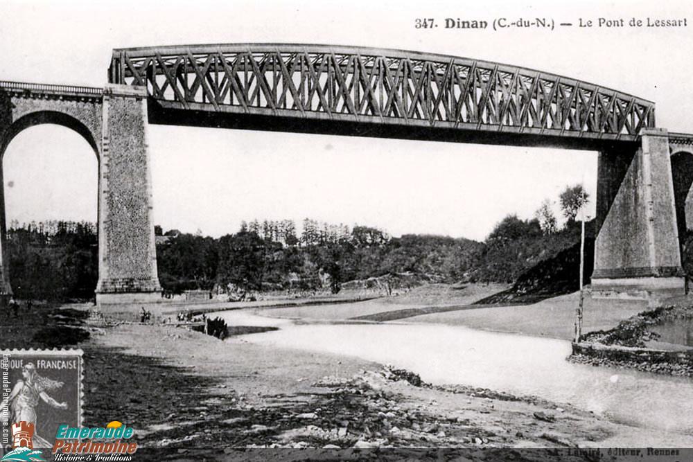 Le pont de Chemin de fer de Lessart - Dinan