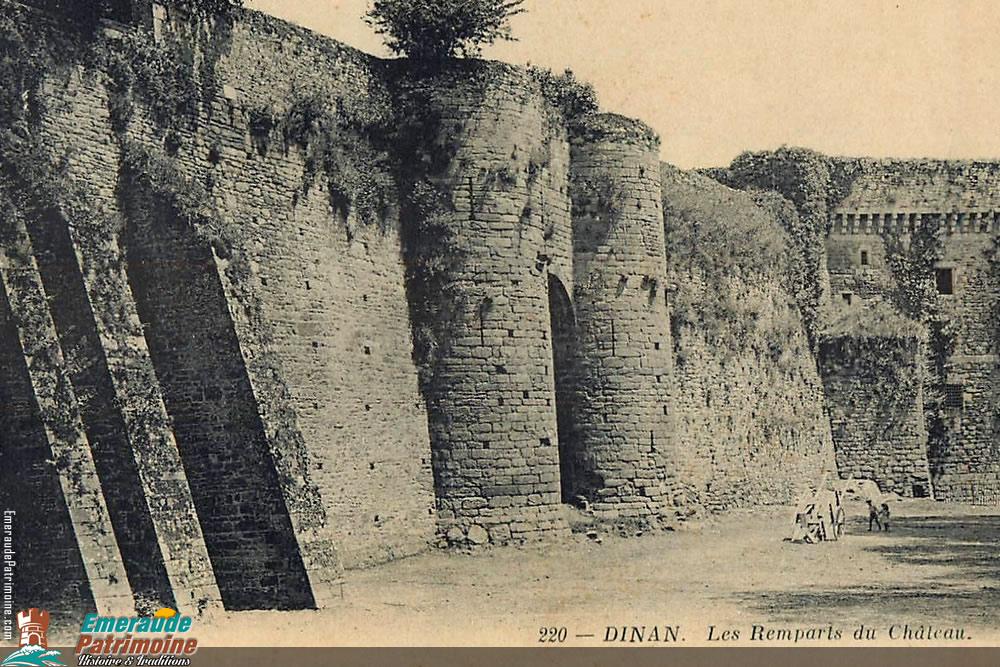 Remparts du Château de la Duchesse Anne