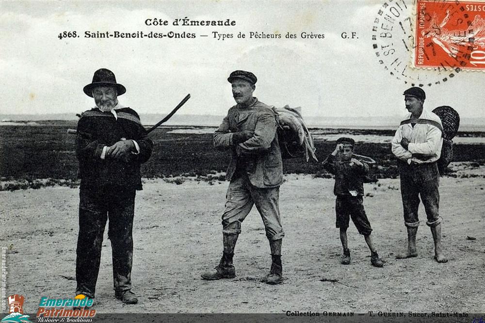 Type de pêcheurs des grèves - Saint-Benoit des Ondes